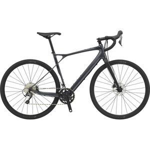 GT Bicycles Grade Carbon Elite Herren satin gunmetal/gloss black/black satin gunmetal/gloss black/black