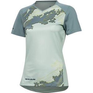 PEARL iZUMi Launch Shortsleeve Jersey Damen mist green/arctic composite mist green/arctic composite