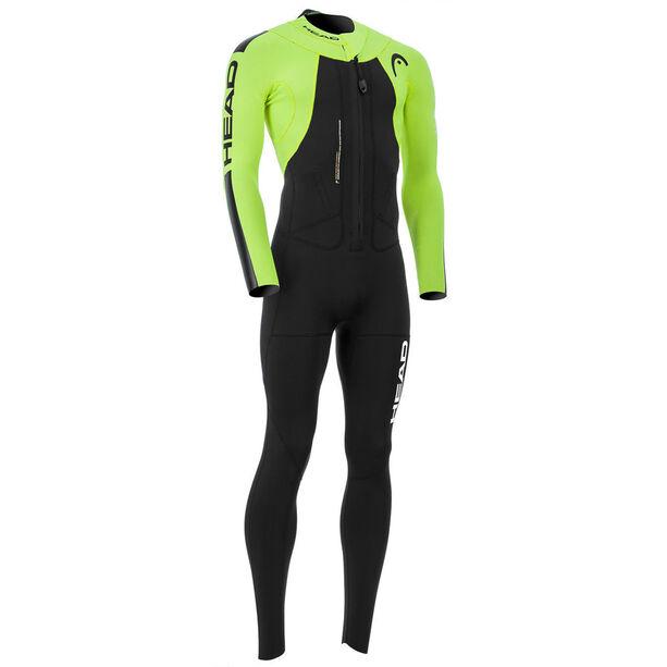 Head Swimrun Rough 4.3.2 Wetsuit Herren black/yellow