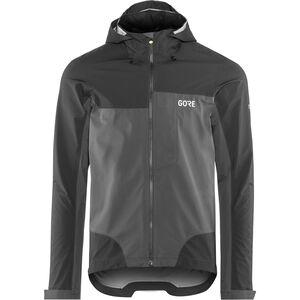 GORE WEAR C5 Gore-Tex Active Trail Hooded Jacket Men black/terra grey bei fahrrad.de Online
