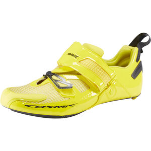 Mavic Cosmic Ultimate Tri Shoes Men Yellow Mavic/Black/Yellow Mavic bei fahrrad.de Online