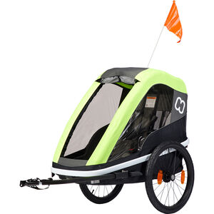 Hamax Avenida One Bike Trailer lime lime