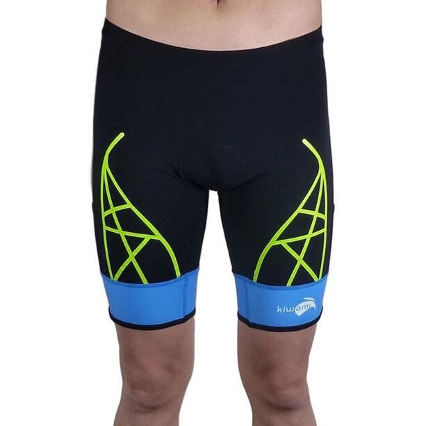KiWAMi Spider Shorts black/blue/lime