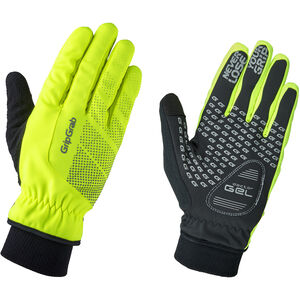 GripGrab Ride Hi-Vis Windproof Winter Gloves fluo yellow
