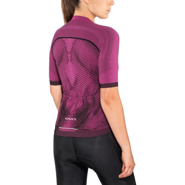 UYN Biking Activyon OW SS Shirt Damen violet rose/pink/black