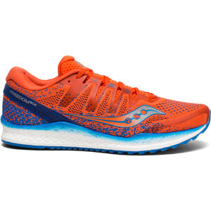 saucony Freedom ISO 2 Shoes Men Orange/Blue bei fahrrad.de Online
