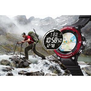 CASIO PRO TREK SMART WSD-F21HR-RDBGE Smartwatch Herren Red Red