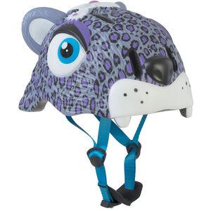 Crazy Safety Leopard Helm Mädchen lila lila