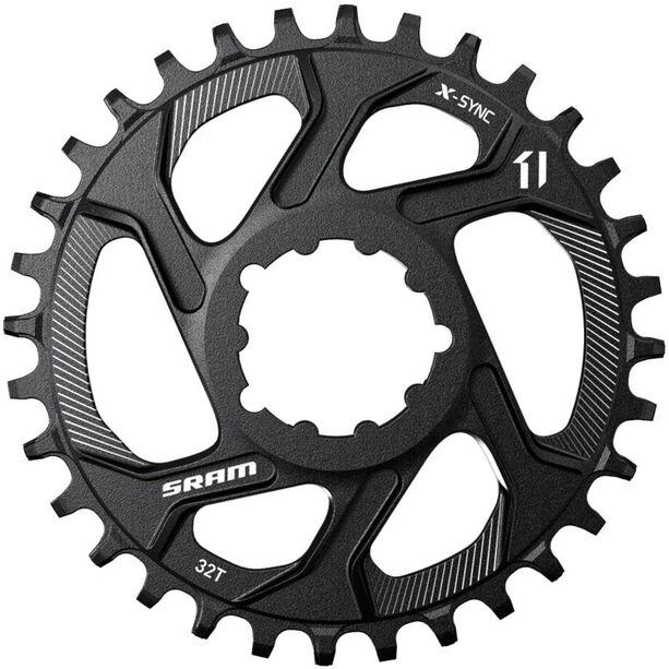 SRAM X-Sync Kettenblatt Direct Mount 11-fach 0° Offset schwarz schwarz