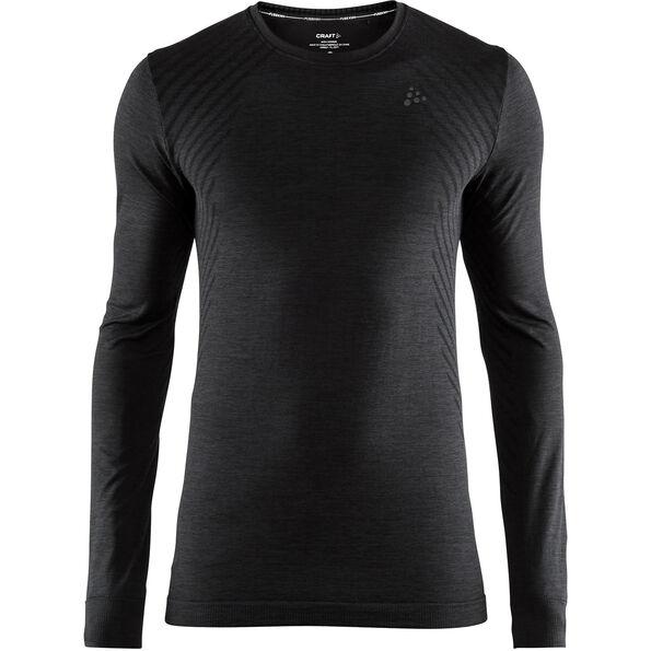 Craft Fuseknit Comfort Round-Neck LS Shirt