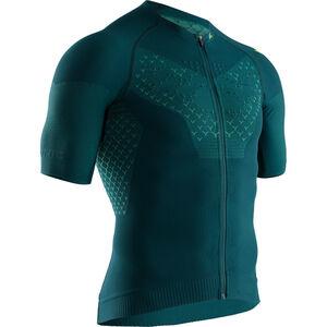 X-Bionic Twyce G2 Fahrrad Zip Trikot SS Herren pine green/amazonas green pine green/amazonas green
