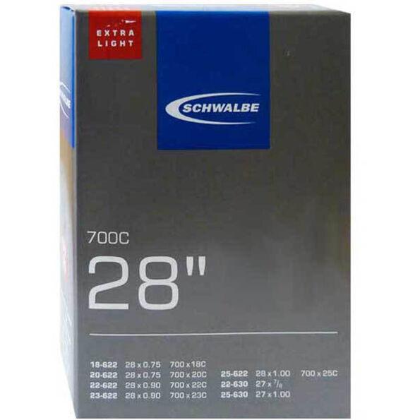 """SCHWALBE No.20 Schlauch 28"""" Extralight Rennrad/Triathlon"""