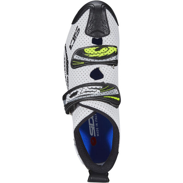 Sidi T-4 Air Carbon Shoes Herren white/black