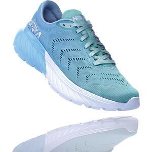 Hoka One One Mach 2 Running Shoes Damen aquamarine/lichen aquamarine/lichen