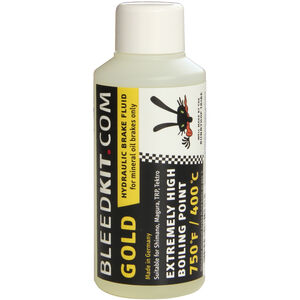 Bleedkit Mineral Brake Fluid Gold Hydraulic 100ml
