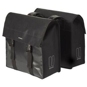 Basil Urban Load Doppel-Gepäckträgertasche 48-53l schwarz schwarz