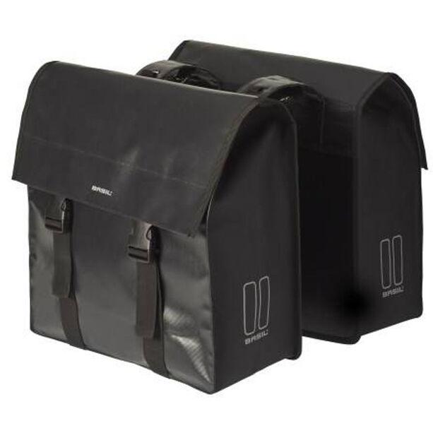 Basil Urban Load Doppel-Gepäckträgertasche 48-53l schwarz