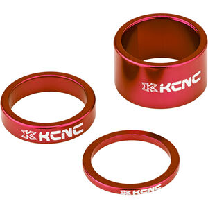 """KCNC Headset Spacer 1 1/8"""" 3/8/20mm rot"""