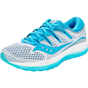 saucony Triumph ISO 5 Shoes Women White/Blue bei fahrrad.de Online
