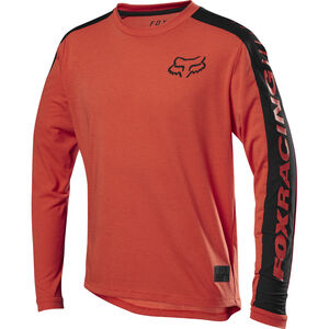 Fox Ranger Dri-Release Langarm Trikot Jugend orange crush orange crush
