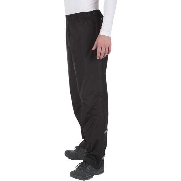 VAUDE Fluid II Full-Zip Pants Herren black