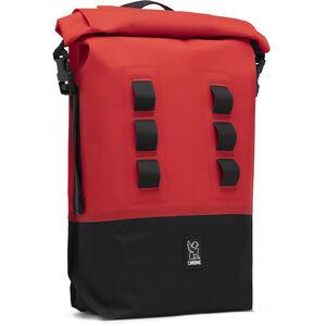 Chrome Urban EX Rolltop Rucksack 18l red/black red/black