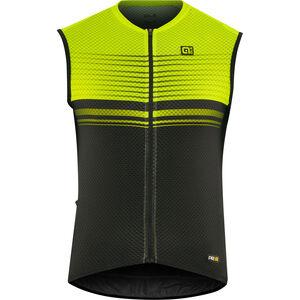 Alé Cycling Graphics PRR Slide Sleeveless Jersey Herren black flou yellow black flou yellow