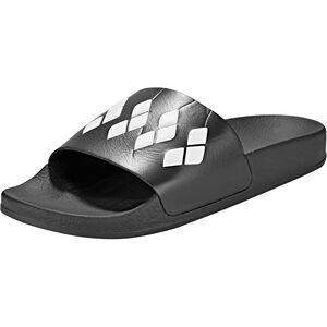 arena Team Stripe Slide Sandals black-black-white black-black-white