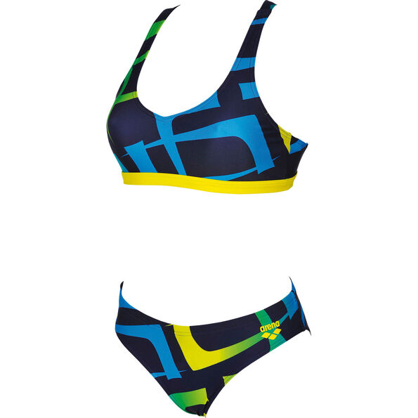 arena Scrawl Two-Pieces Swimsuit Women