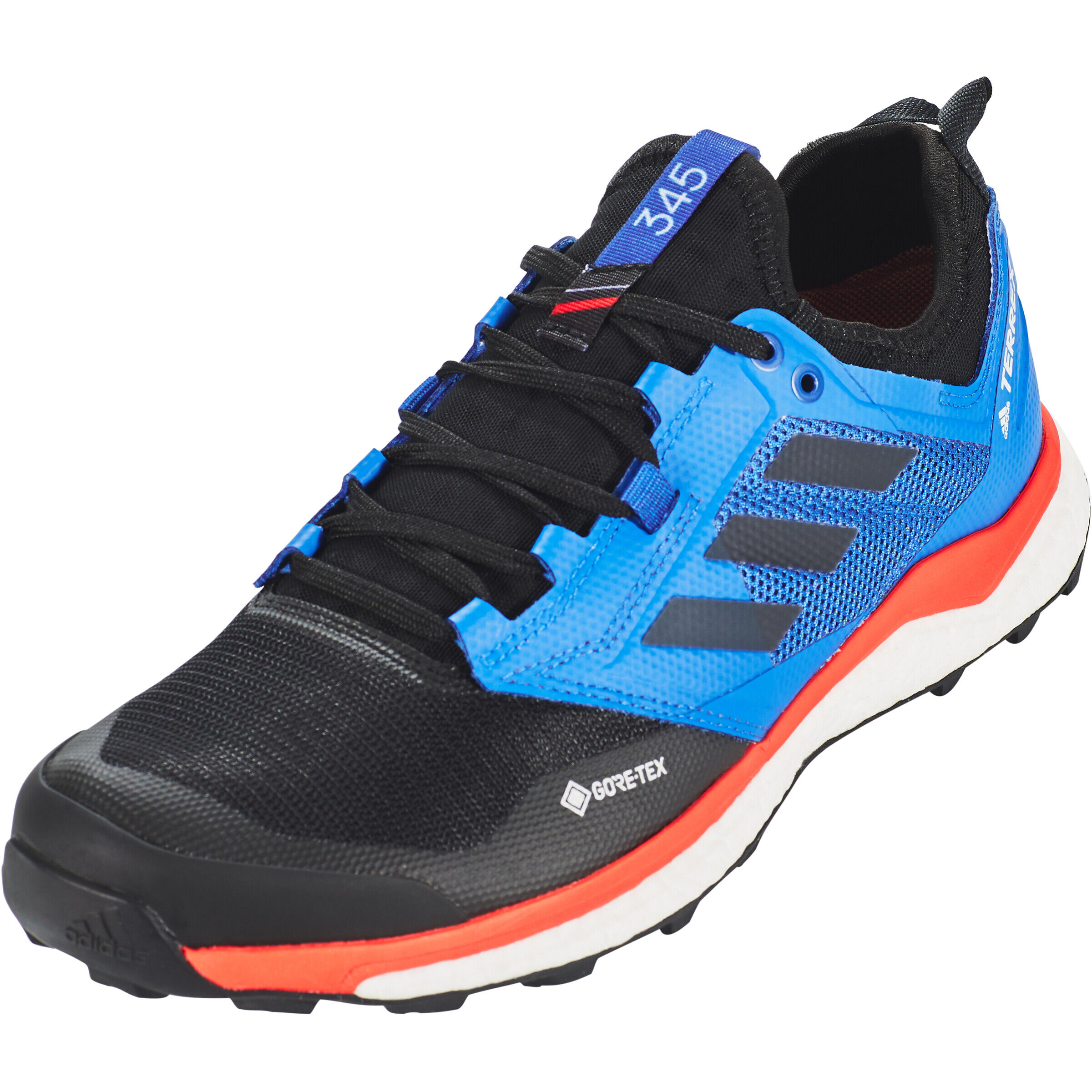 adidas TERREX Agravic XT Gore Tex Trail Running Schuhe Herren core blackgrey fivehi res red