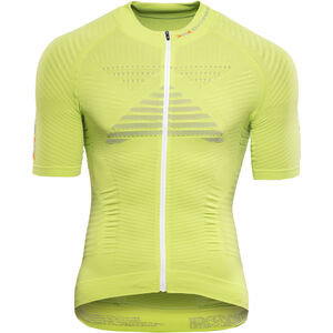 X-Bionic Effektor Power Fahrrad Trikot SS Full-Zip Herren green lime/pearl grey green lime/pearl grey