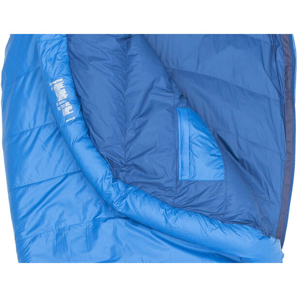 Marmot Helium Sleeping Bag regular cobalt blue/blue night