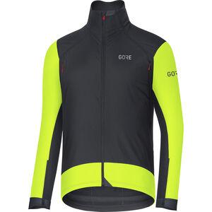 GORE WEAR C7 Windstopper Pro Jacket Herren black/neon yellow black/neon yellow