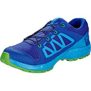 Salomon XA Elevate CSWP Shoes Junior mazarine blue wil/indigo bunting/onlime lime bei fahrrad.de Online