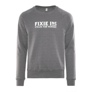 FIXIE Inc. Hero  Sweater Unisex melange grey bei fahrrad.de Online