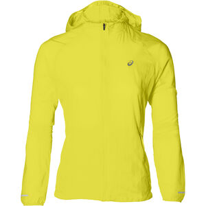 asics Packable Jacket Damen lemon spark lemon spark