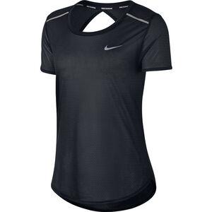 Nike Breathe Open Back T-Shirt Damen black black