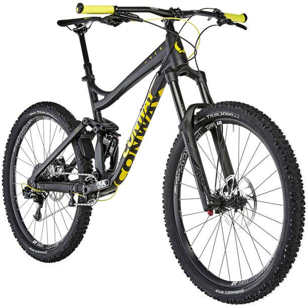 Conway WME 727 Alu Herren black matt/yellow