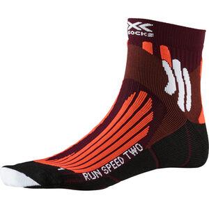 X-Socks Run Speed Two Socks Herren sunset orange/pearl grey sunset orange/pearl grey