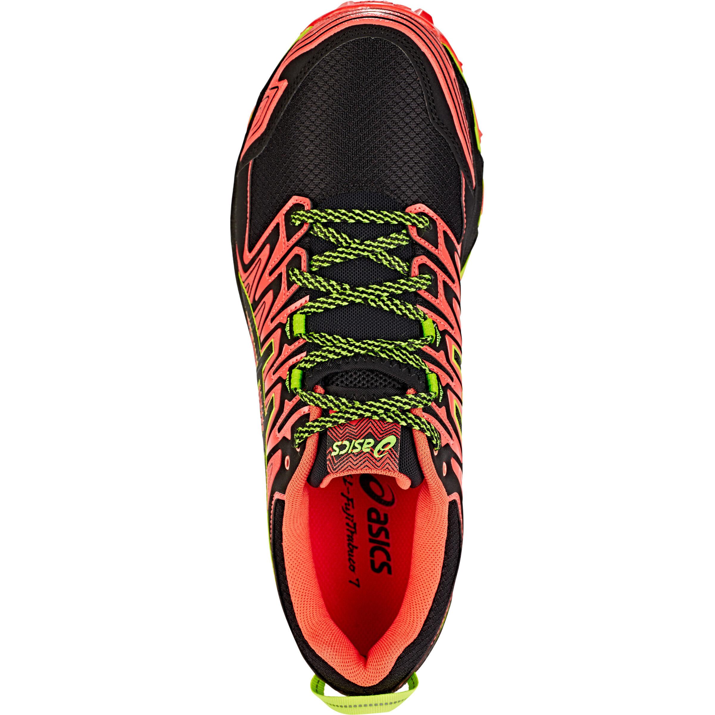 asics Gel FujiTrabuco 7 Shoes Herren red snapperblack