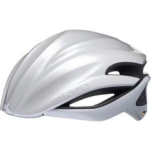 KED Wayron Race Helmet white white