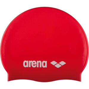 arena Classic Silicone Swimming Cap Kinder red-white red-white