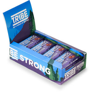 TRIBE Vegan Protein Bar Box 16x50g Brownie