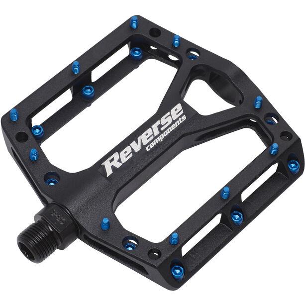 Reverse Black One Pedals schwarz/dunkelblau schwarz/dunkelblau