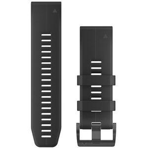 Garmin QuickFit Silikon Uhrenband 22mm black black