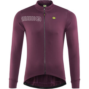 Alé Cycling Solid Color Block Longsleeve Jersey Men amarone red bei fahrrad.de Online