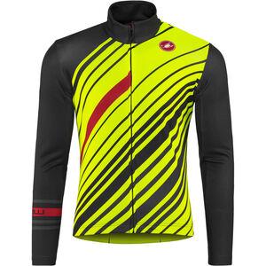 Castelli Cielo Full Zip Jersey Men dark gray yellow fluo bei fahrrad.de  Online 6d63cc530