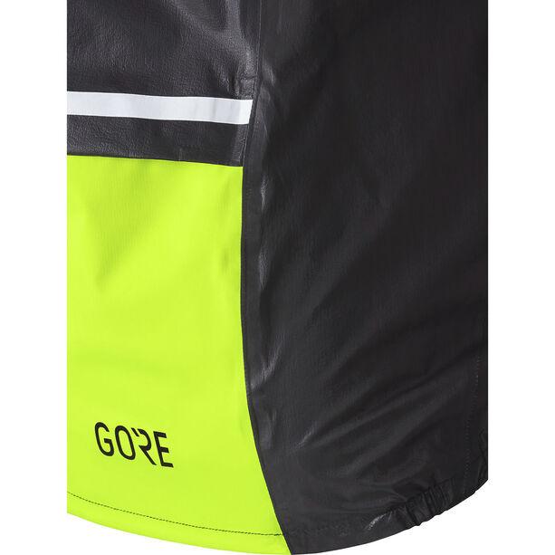 GORE WEAR C5 Gore-Tex Shakedry 1985 Insulated Viz Jacket Herren black/neon yellow