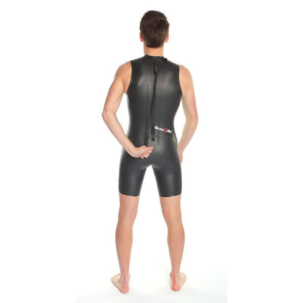 Dare2Tri Shortie Wetsuit Men Herren black