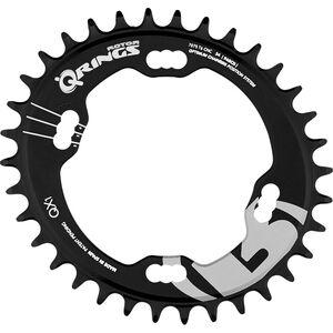 Rotor Q-Ring QX1 MTB Kettenblatt Shimano XT M8000 96mm 1-fach schwarz schwarz